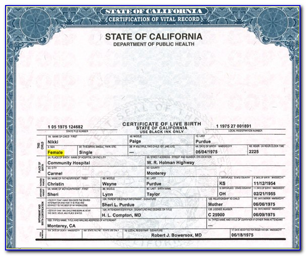 Misspelled Name On Birth Certificate Texas