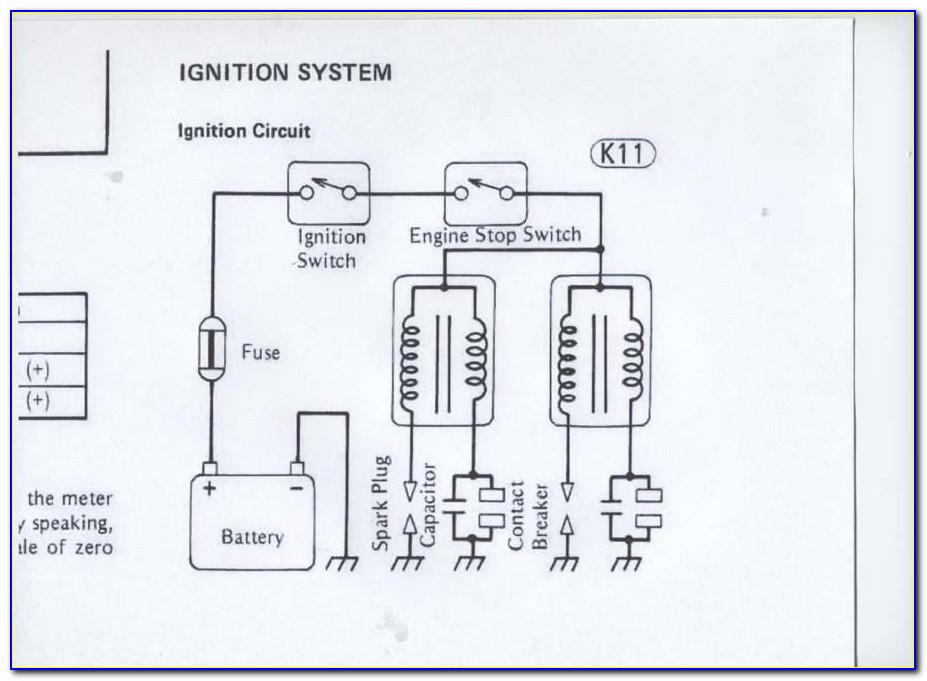 Motorcycle Ignition Coil Circuit Diagram