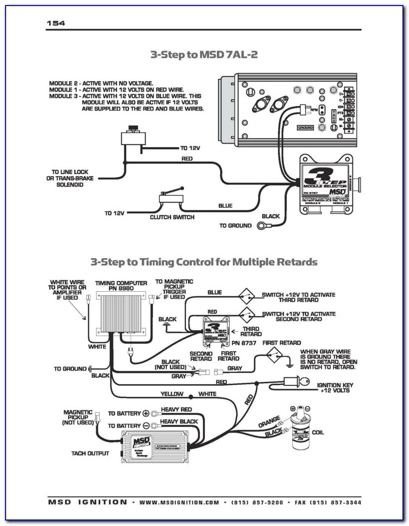 Msd 6a Ignition Box Wiring Diagram