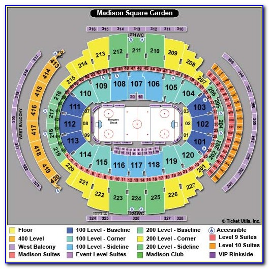 Msg Seat Map View