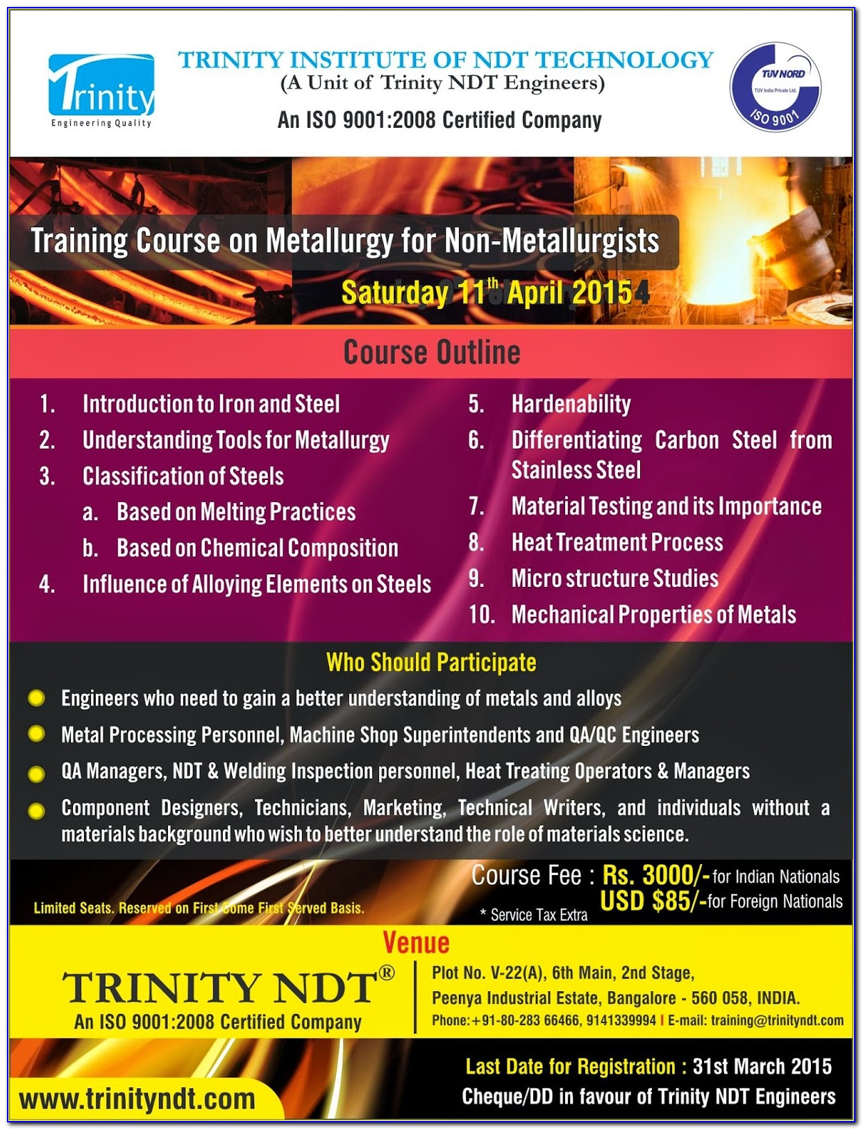 Ndt Level 3 Certification India