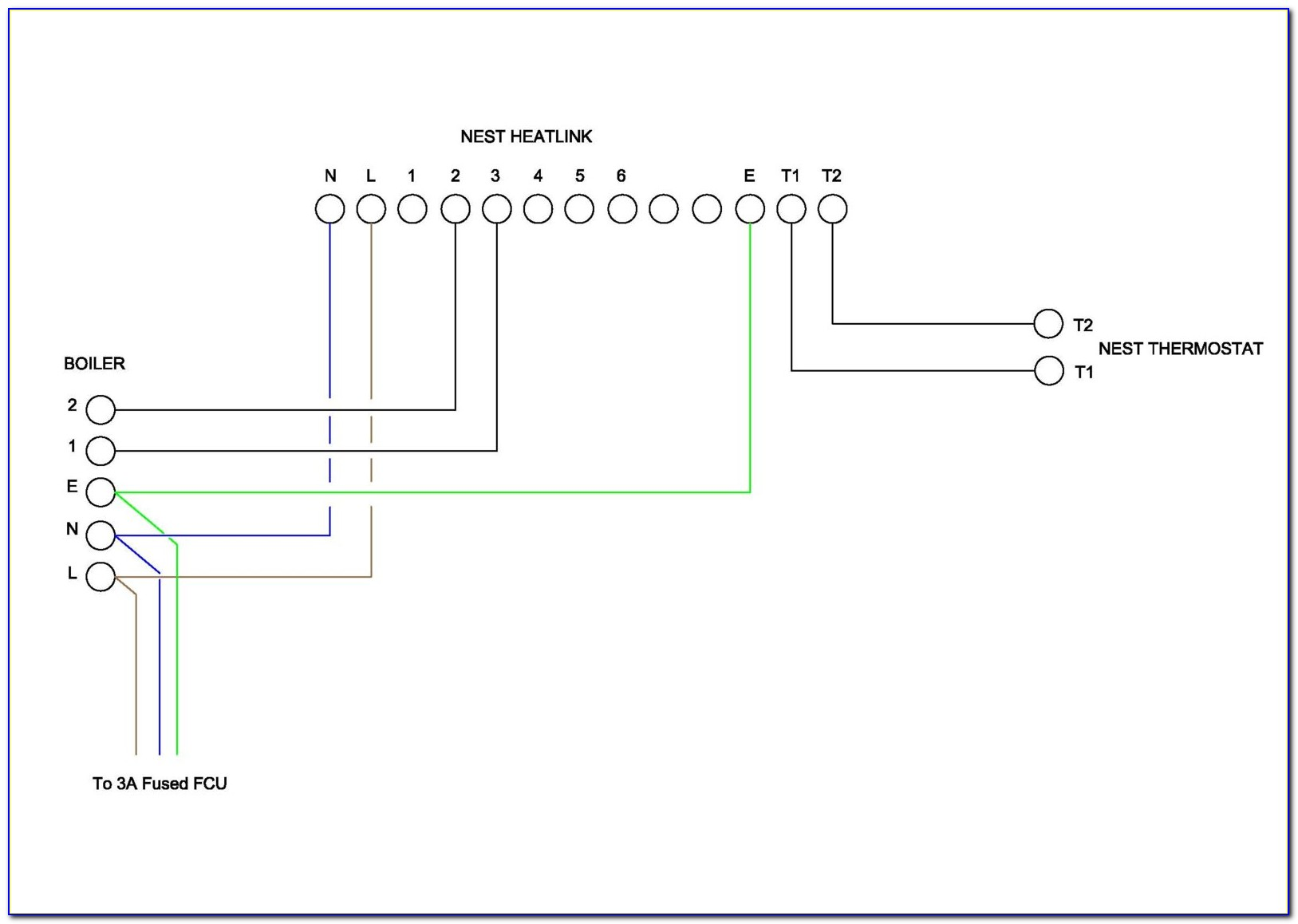 Nest Learning Thermostat 3rd Gen Wiring Diagram