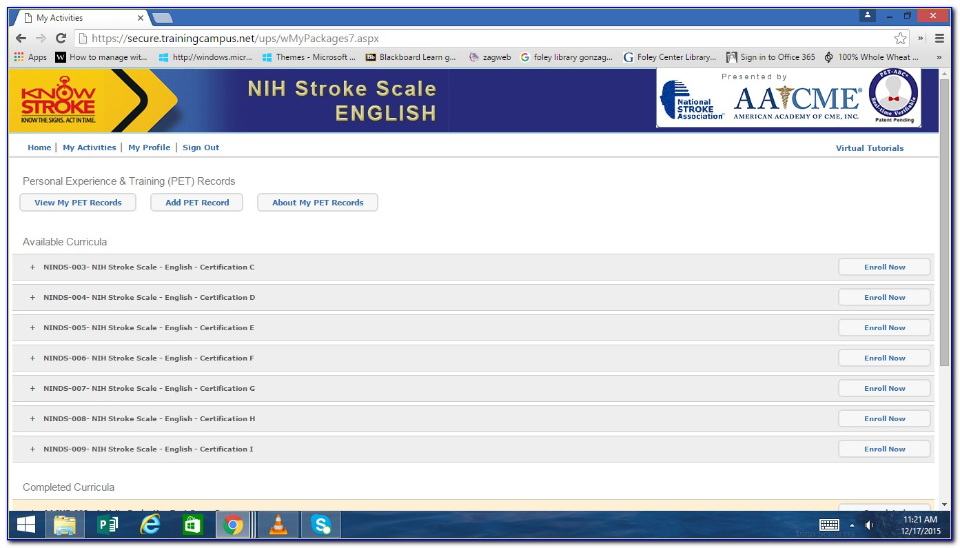 Nih Stroke Scale Certification Answers Group C