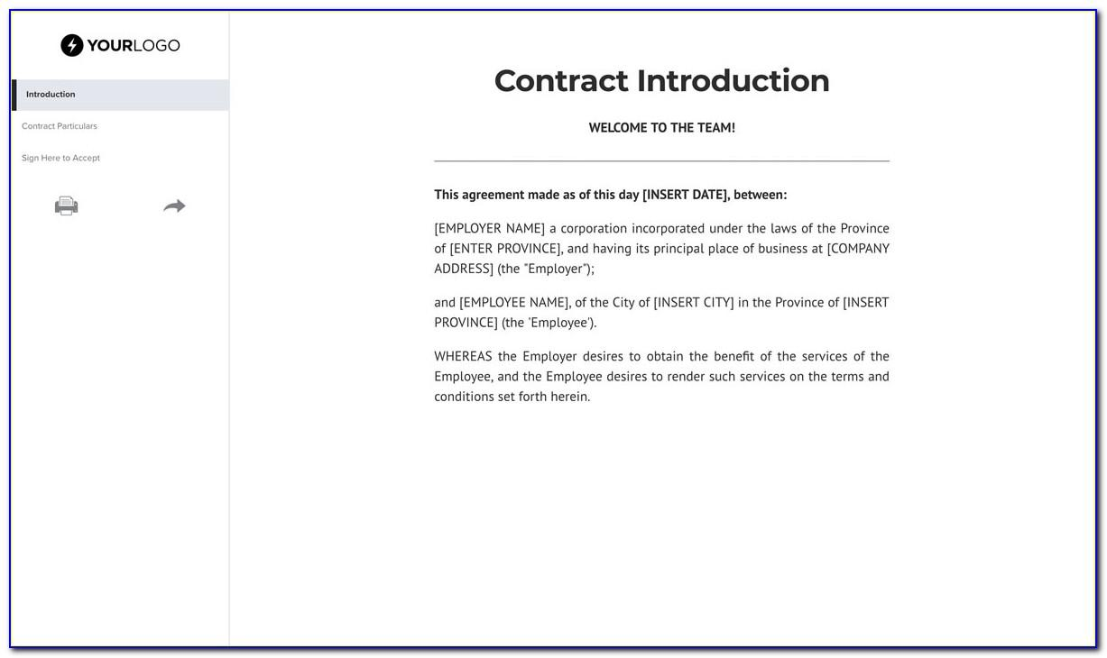 Non Circumvention Agreement Template Free