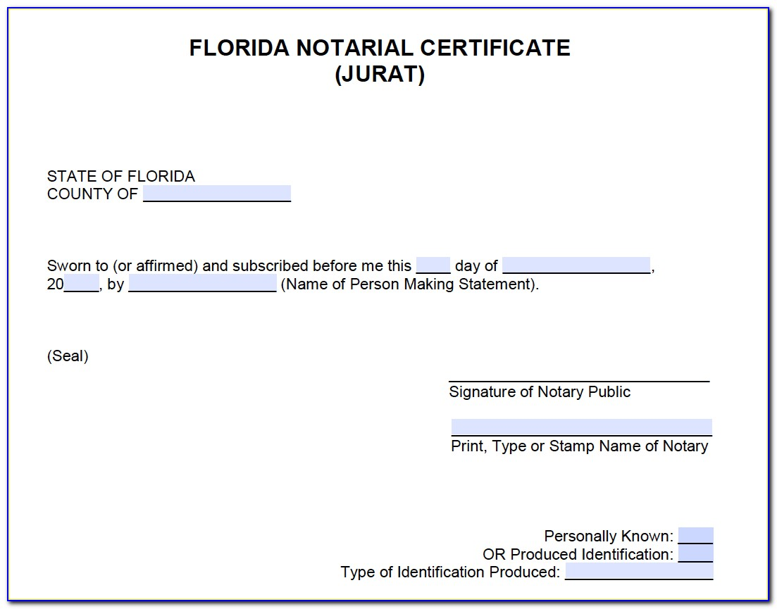 Notary Signing Agent Certification Florida