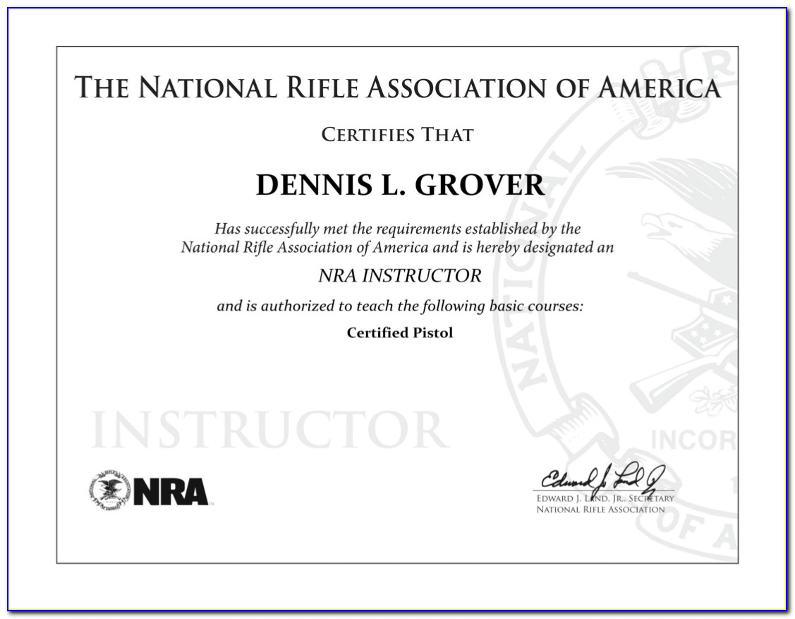 Nra Firearms Instructor Course Online
