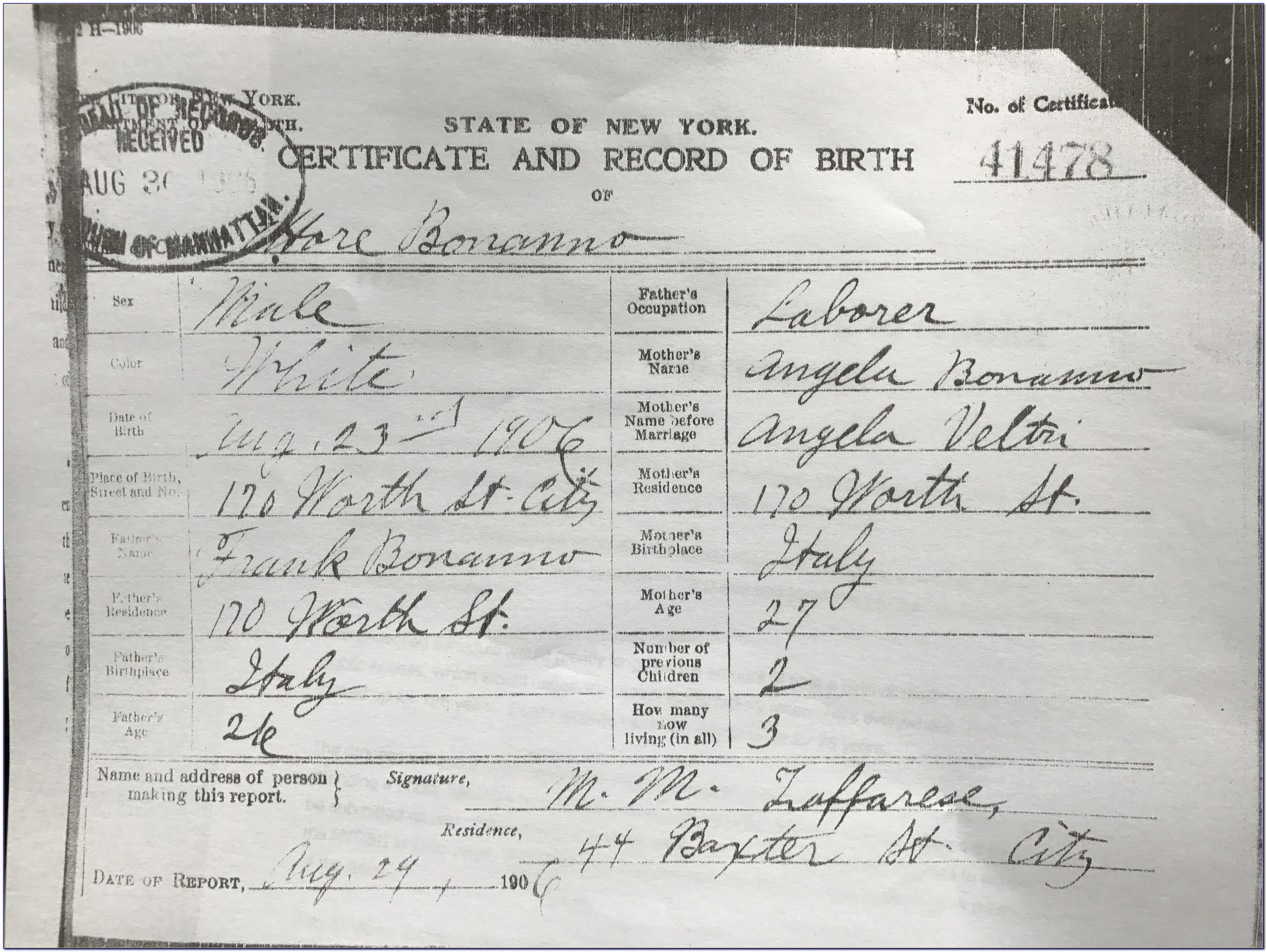 Nyc Vital Records Birth Certificate Application