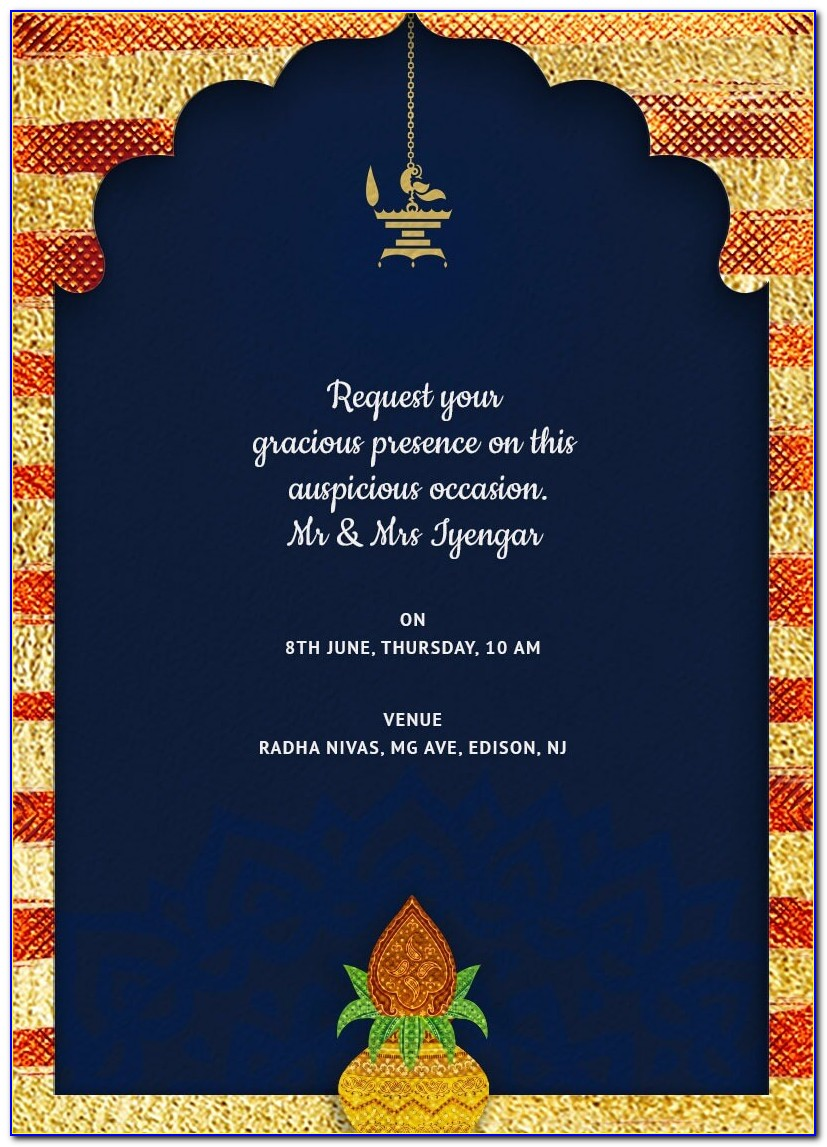 Online House Warming Invitation Card Maker India