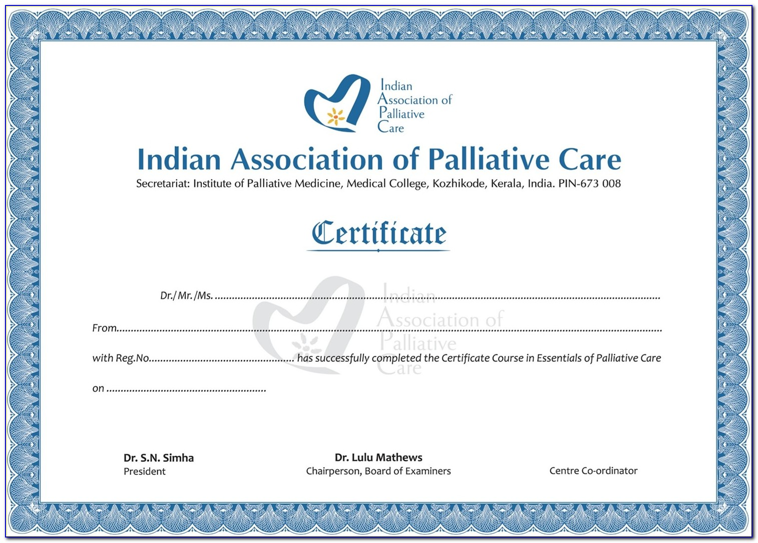 Palliative Care Certification For Np Online