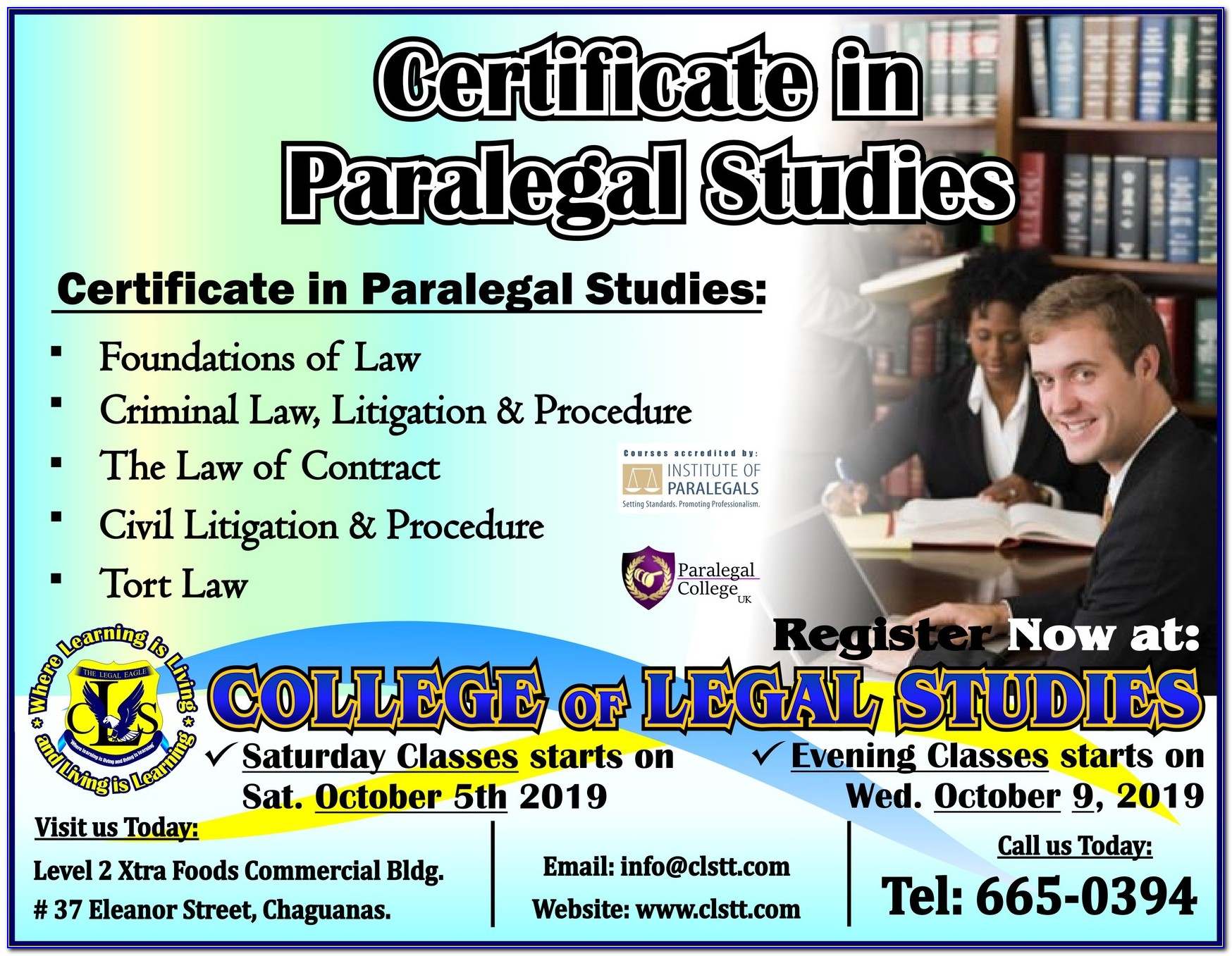 Paralegal Certificate Charlotte Nc
