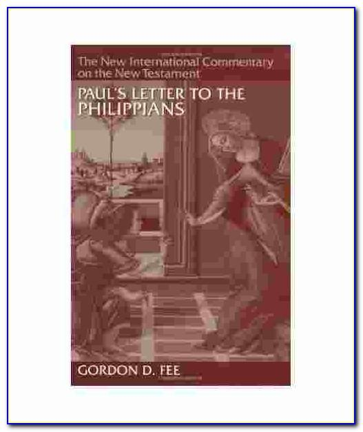 Pauls Letter To The Philippians A Socio Rhetorical Commentary