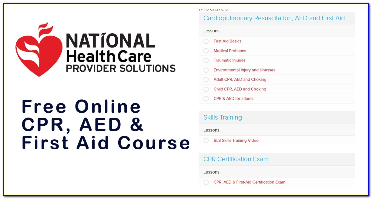 Pediatric Cpr And First Aid Certification Online