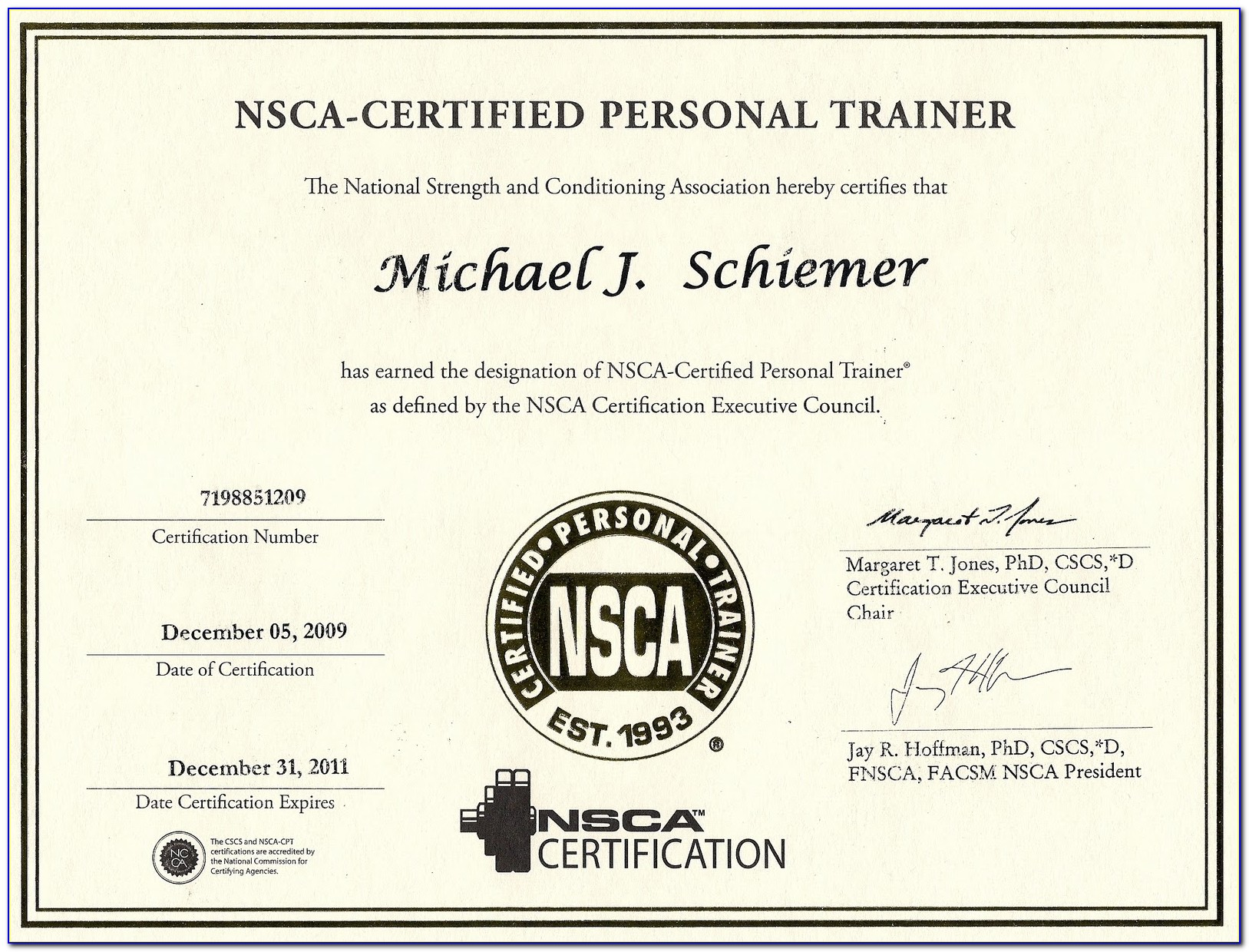 Personal Trainer Certification Syracuse Ny