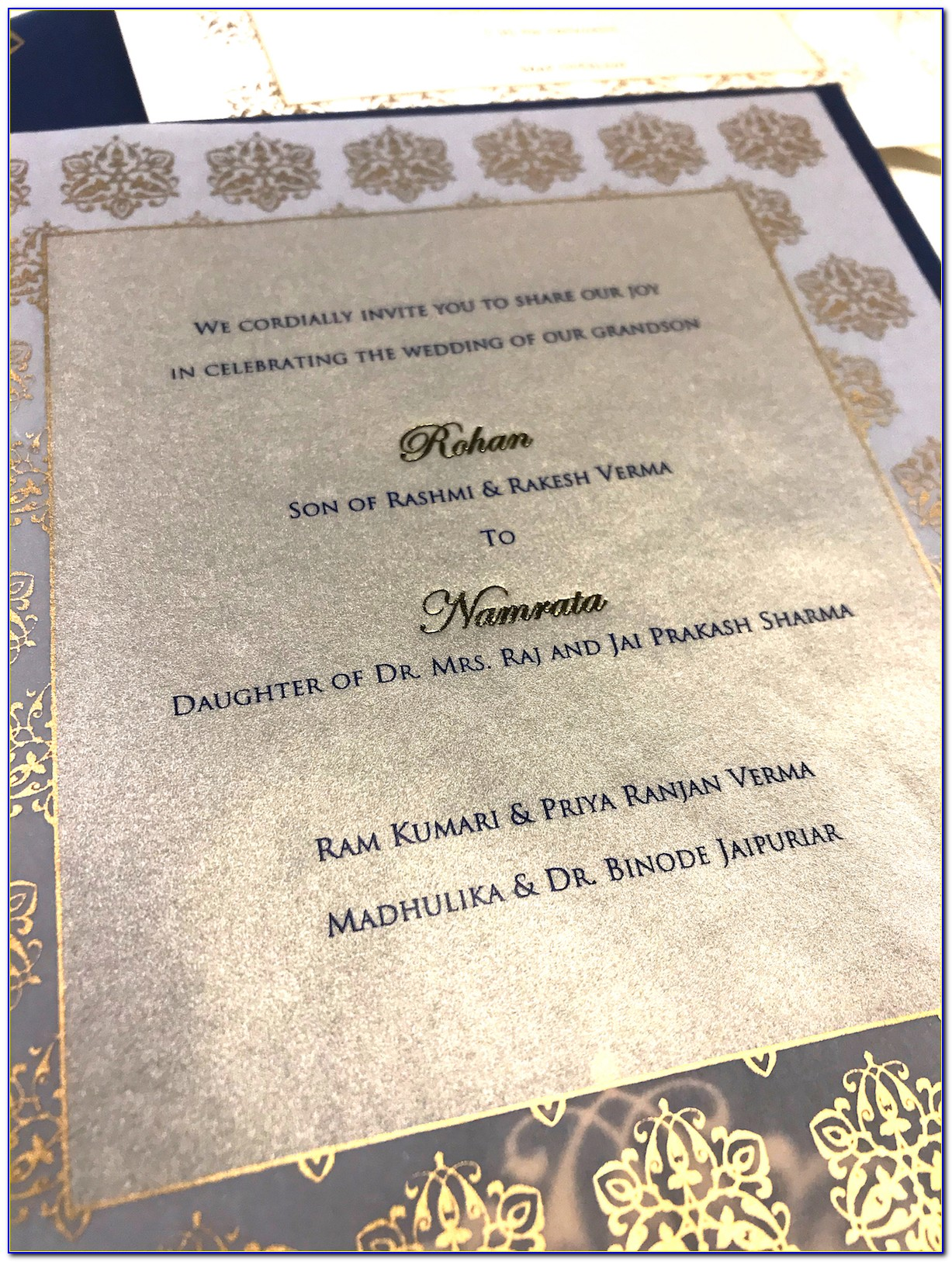 Personal Wedding Invitation Cards Wordings In English