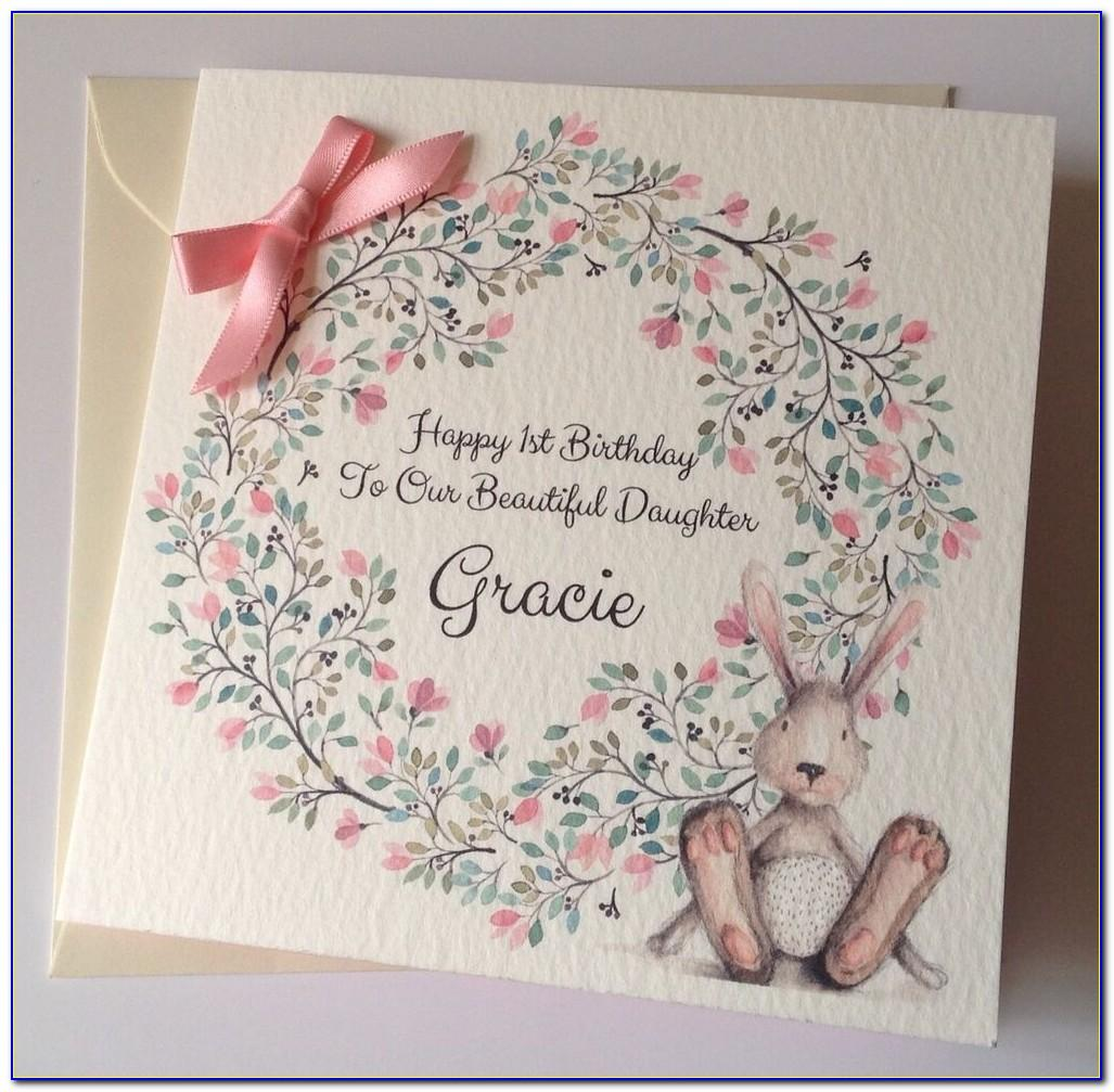 Personalised 30th Daughter Birthday Cards