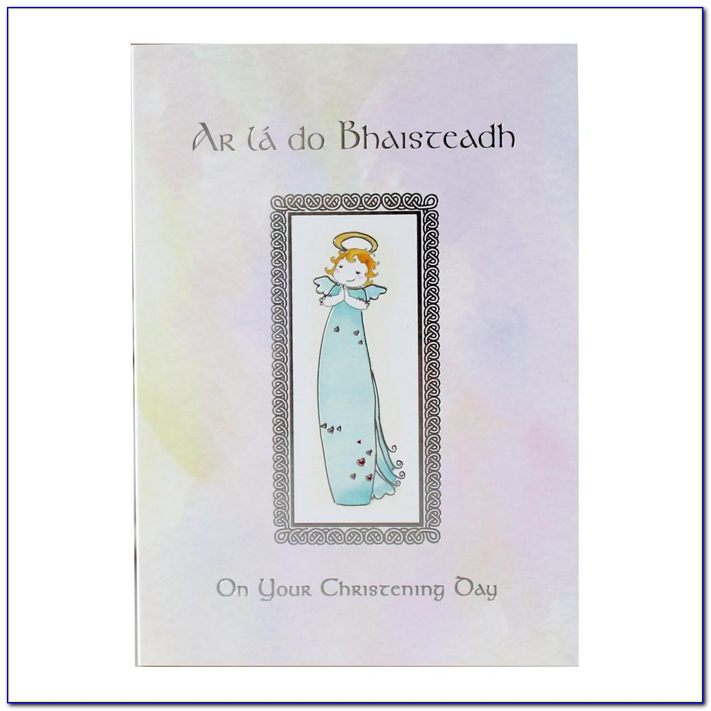 Personalised Christening Cards For Granddaughter