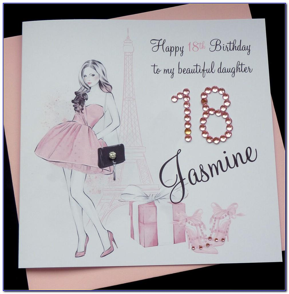 Personalised Daughter 40th Birthday Cards
