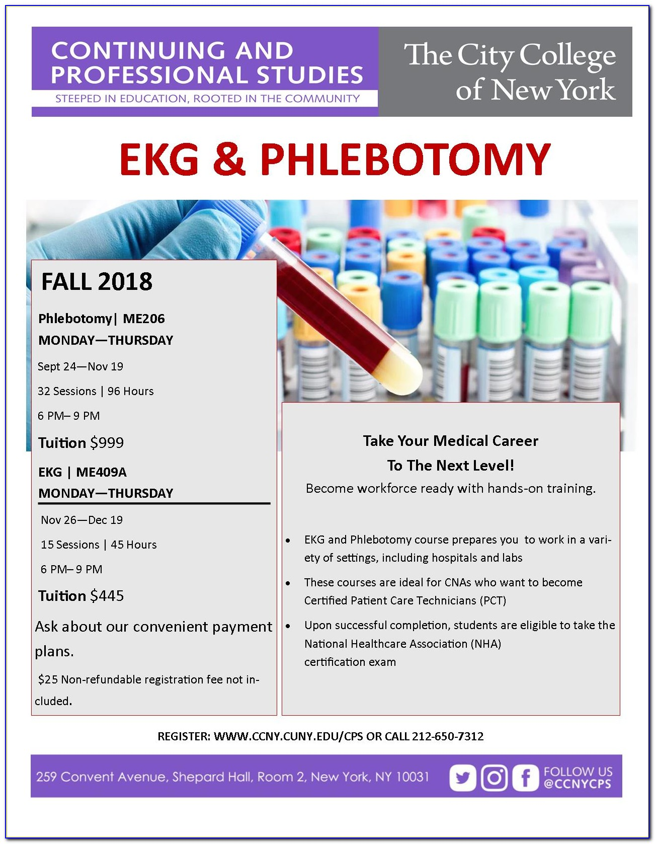 Phlebotomy Certification Classes Online Canada