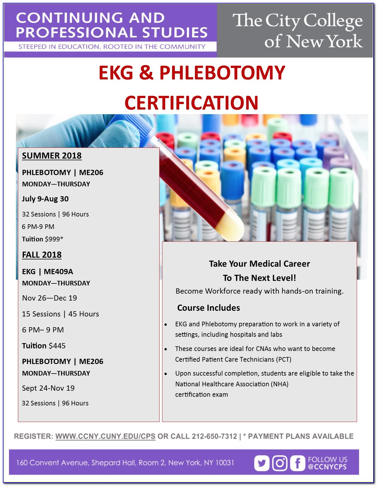 Phlebotomy Technician Certification Nyc