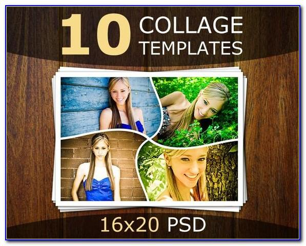 Photo Collage Template Psd Free Download
