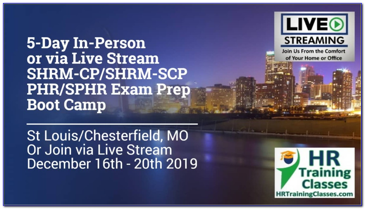 Phr Or Shrm Cp Certification Preferred