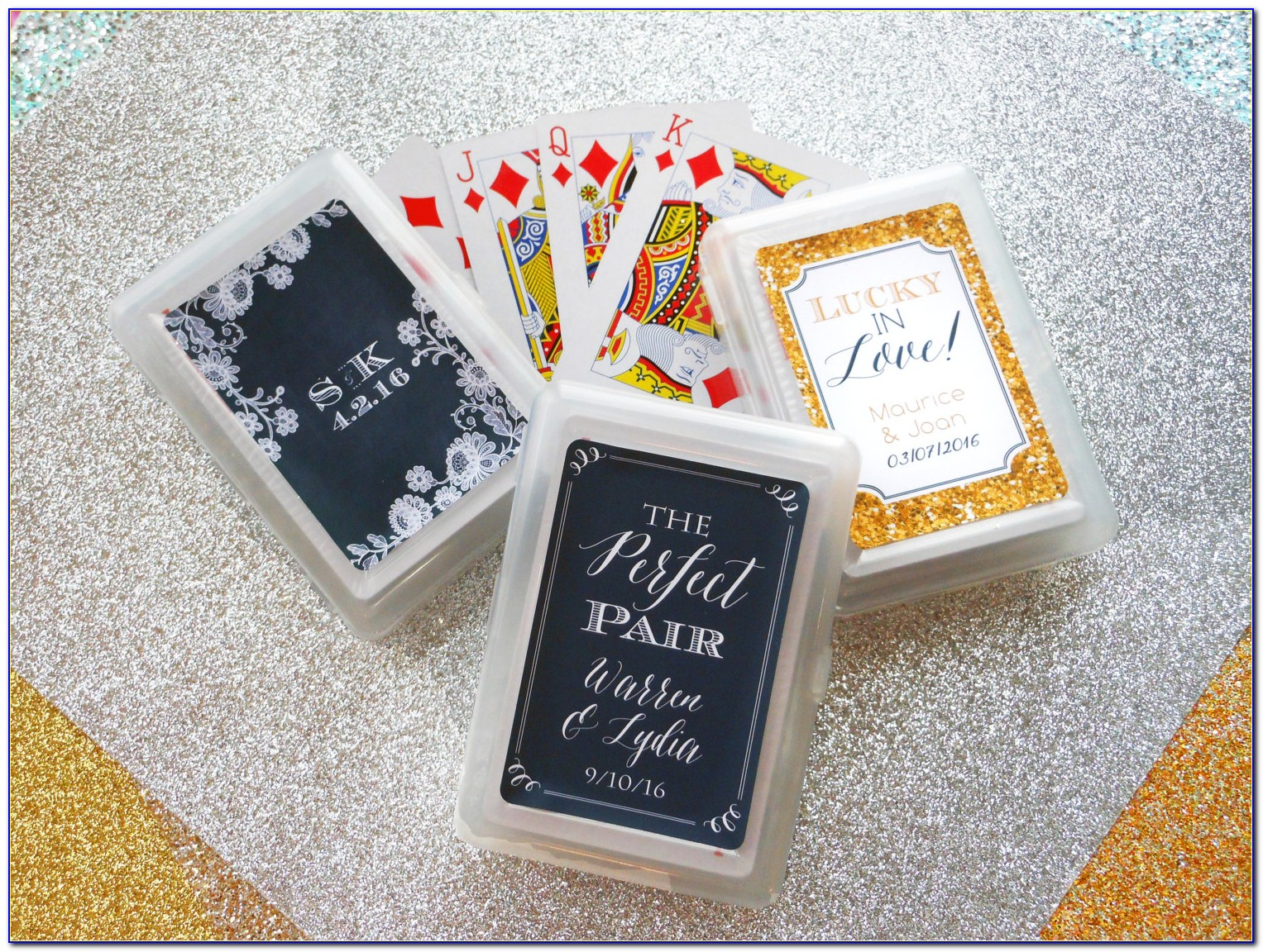 Playing Cards Wedding Favours