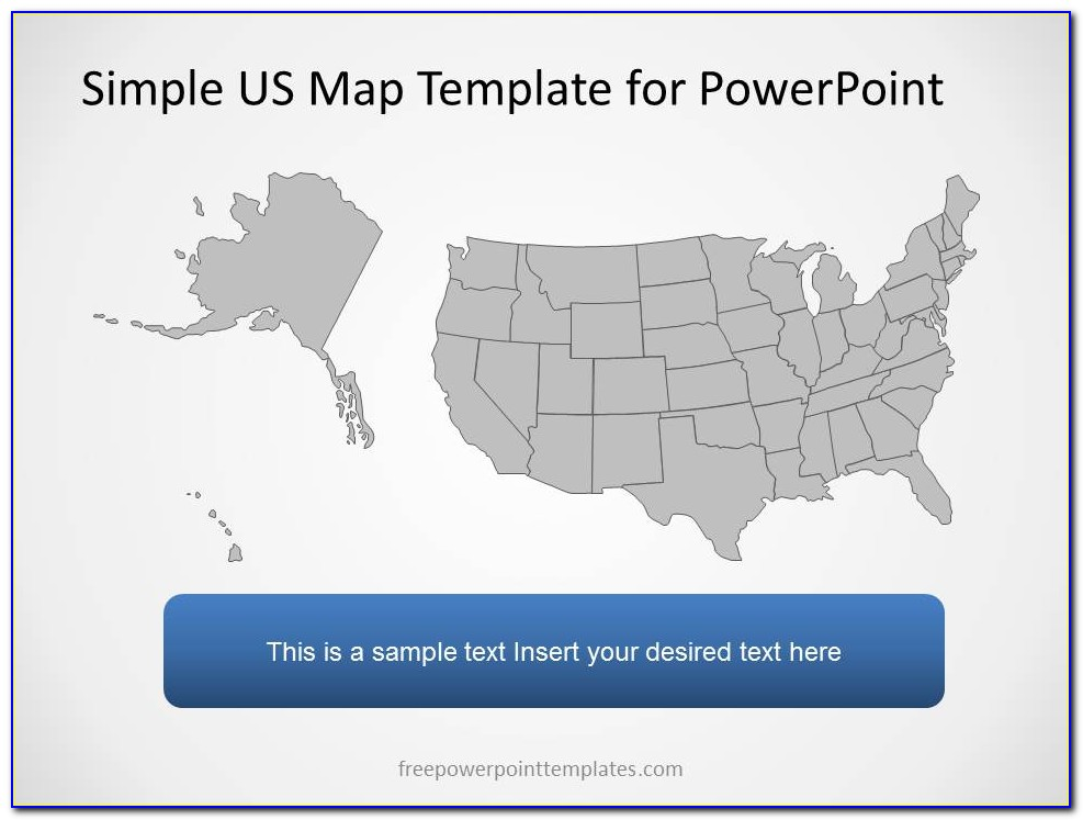 Powerpoint Us Map Templates