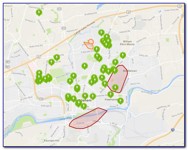 Ppl Power Outage Map Update