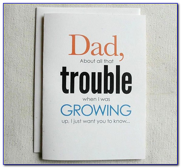 Printable Birthday Cards For Daddy From Son