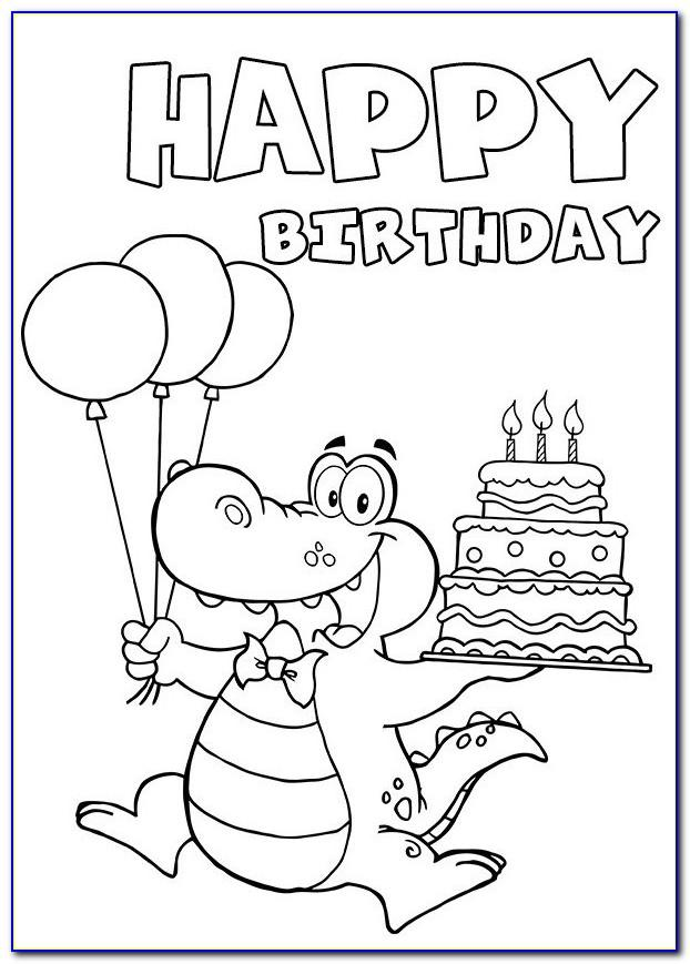 Printable Black And White Birthday Cards For Mom