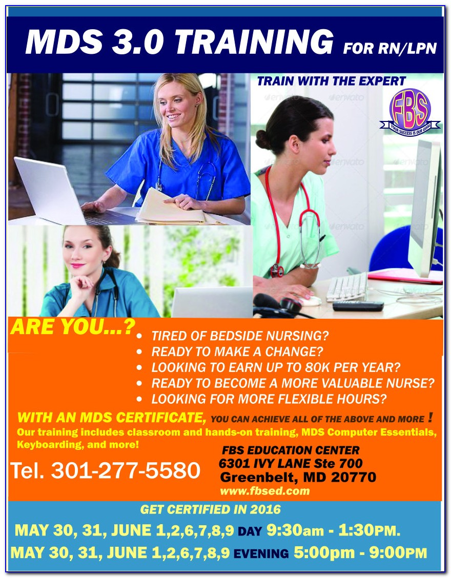 Rai Mds Certification As Per Ministry Of Health Requirements For Ais