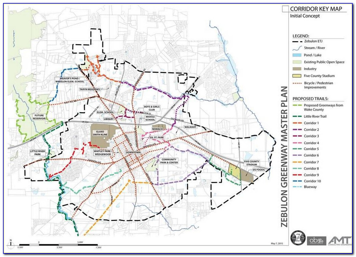 Raleigh Greenway Map App