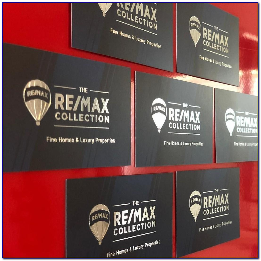 Remax Business Cards Black