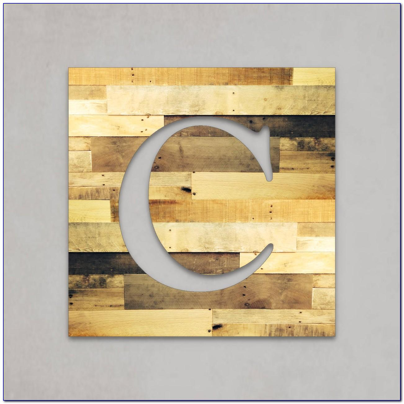 Rustic Wood Letters For Wall