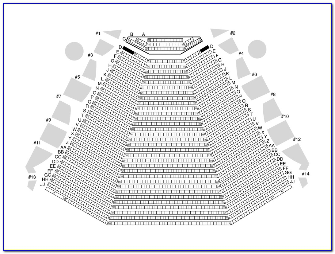 Ruth Eckerd Hall Capitol Theater Seating Chart