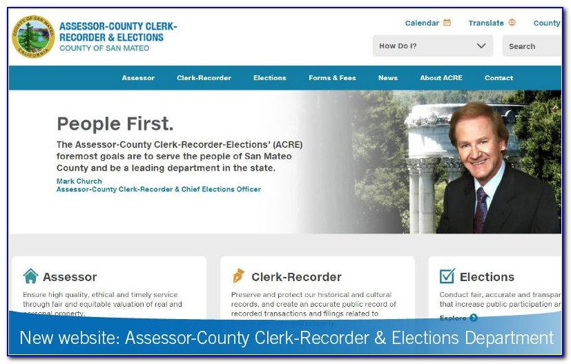 San Mateo County Birth Certificate Replacement