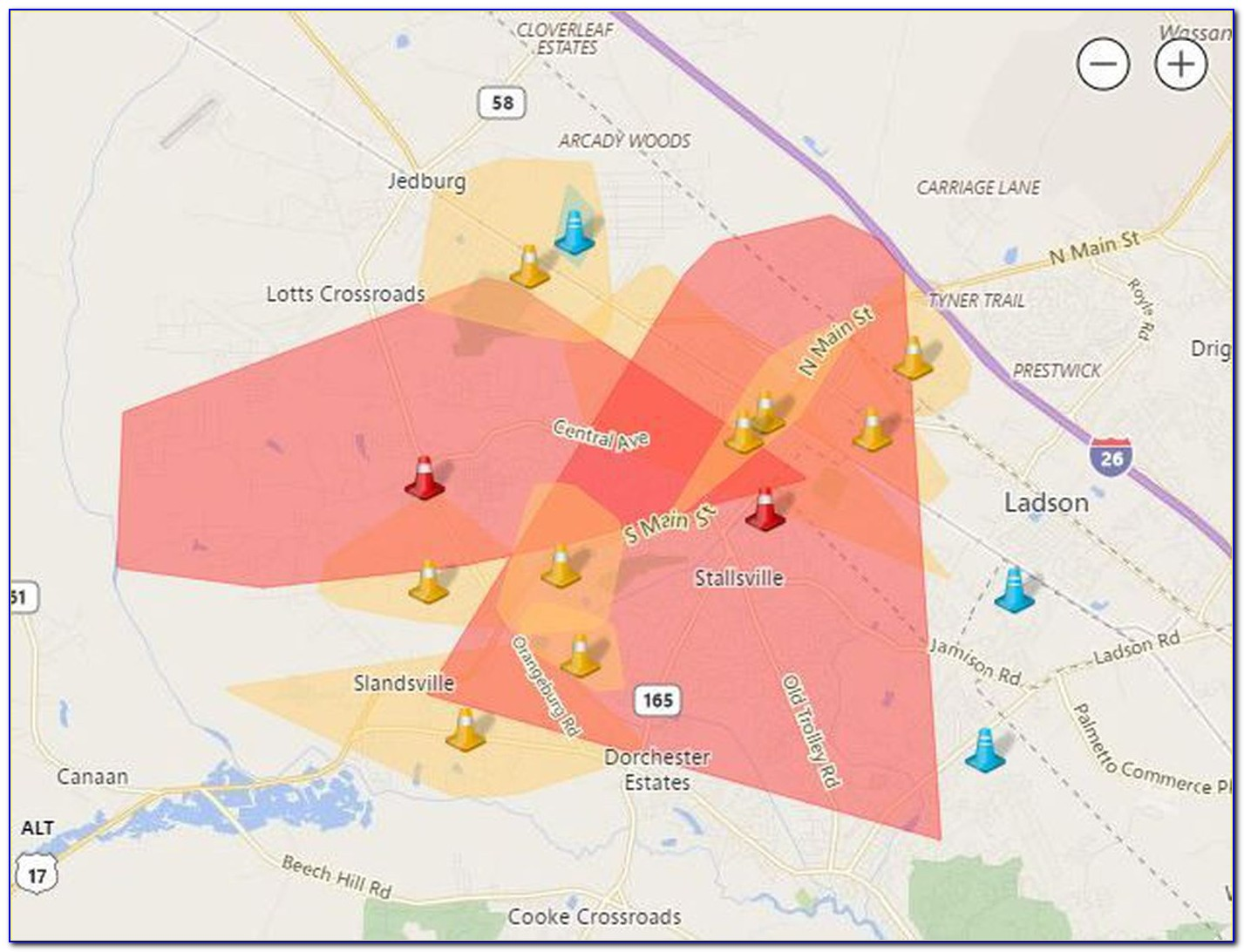 Sceg Power Outage Map