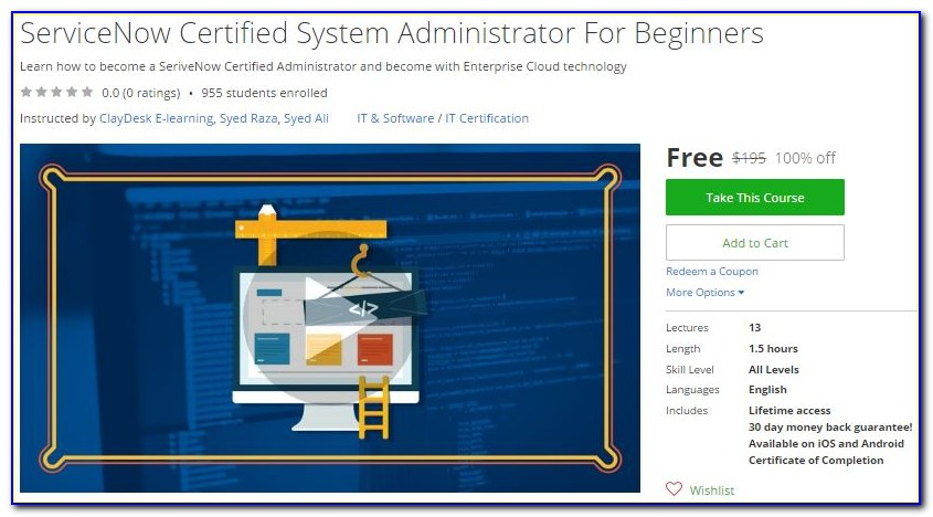 Servicenow Administrator Certification Passing Score