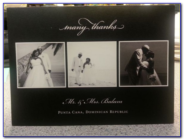 Shutterfly Wedding Thank You Cards