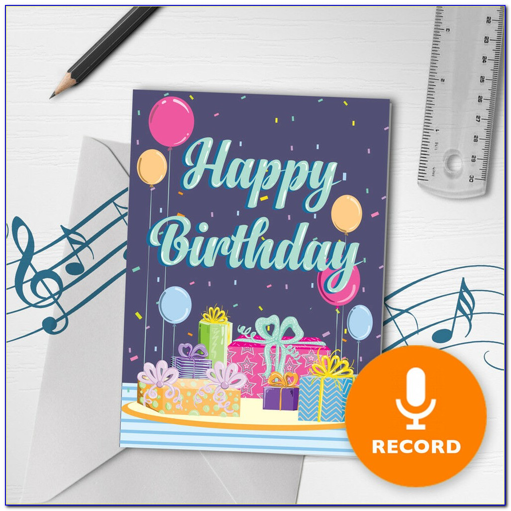 Singing Happy Birthday Cards With Name