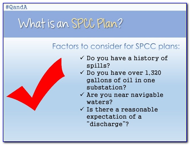 Spcc Plan Pe Requirements
