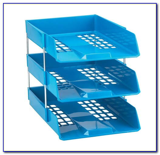 Stackable Letter Trays In Colors