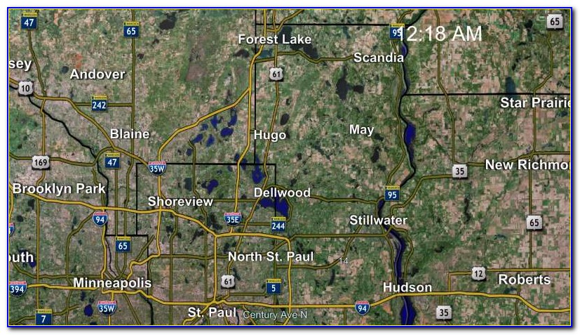Stearns County Mn Interactive Map