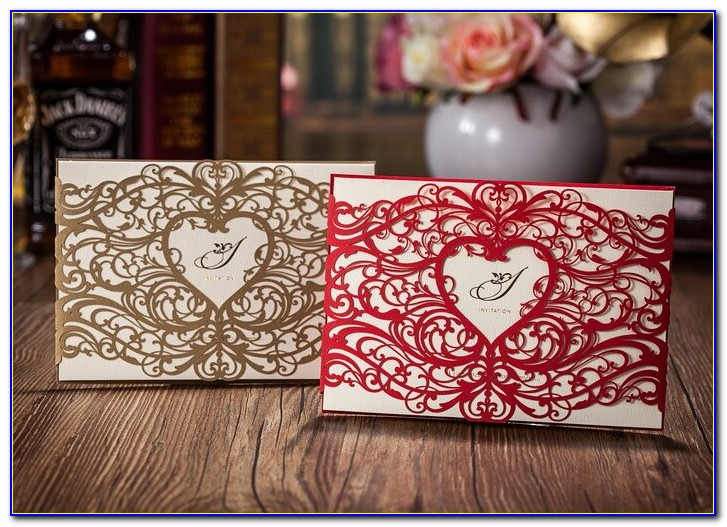 Sweet 16 Invitations Red And Silver