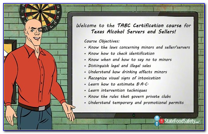 Tabc Certification Texas Age Requirement