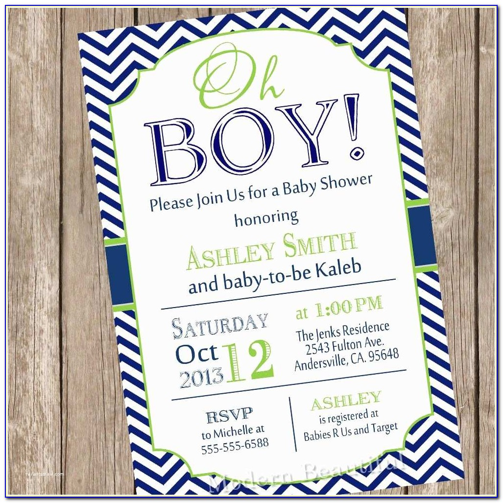 Target Baby Registry Cards For Invitations