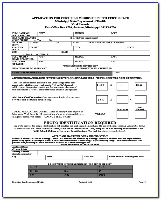 Tennessee Death Certificate Request Form