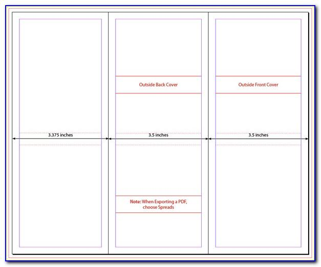 Tri Fold Brochure Indesign Template Free Download