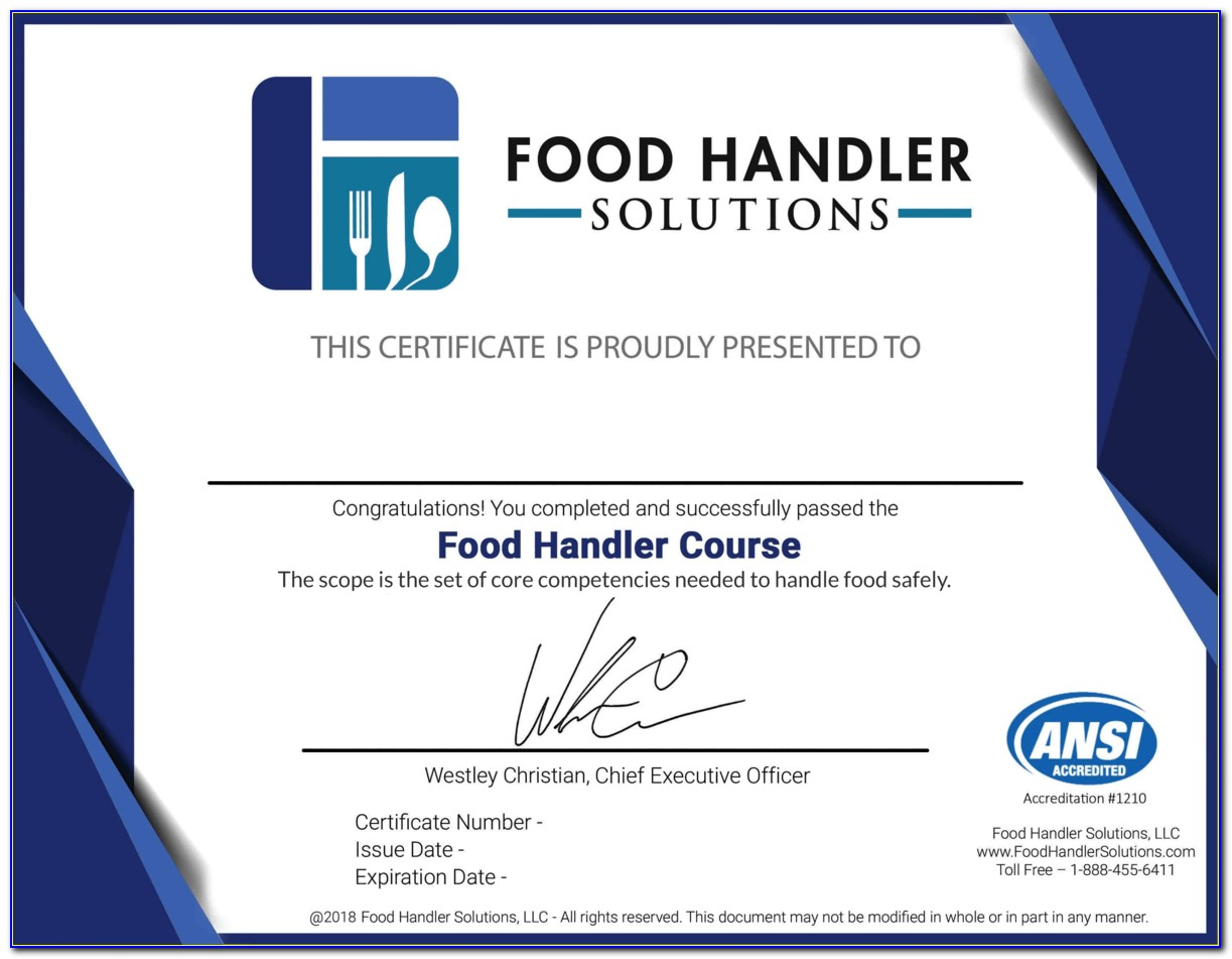 Tulsa Community College Food Manager Certification