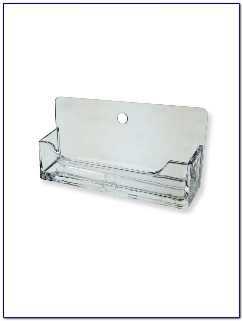 Wall Mountable Business Card Holder